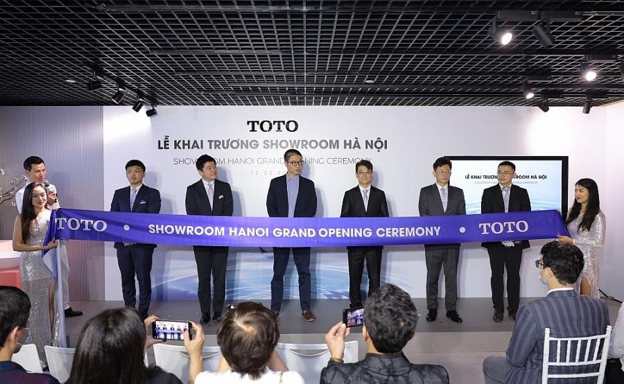 TOTO khai trương showroom đầu tiên tại Hà Nội
