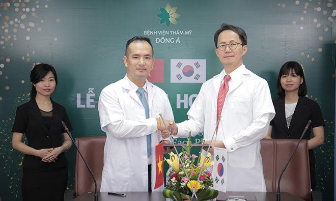 Hệ thống thẩm mỹ Đông Á hợp tác cùng 2 tập đoàn Hàn –Nhật, nâng tầm chất lượng quốc tế
