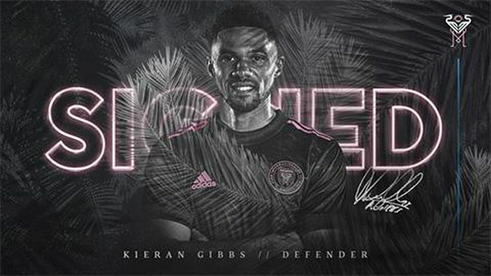 Inter Miami ký hợp đồng với Kieran Gibbs