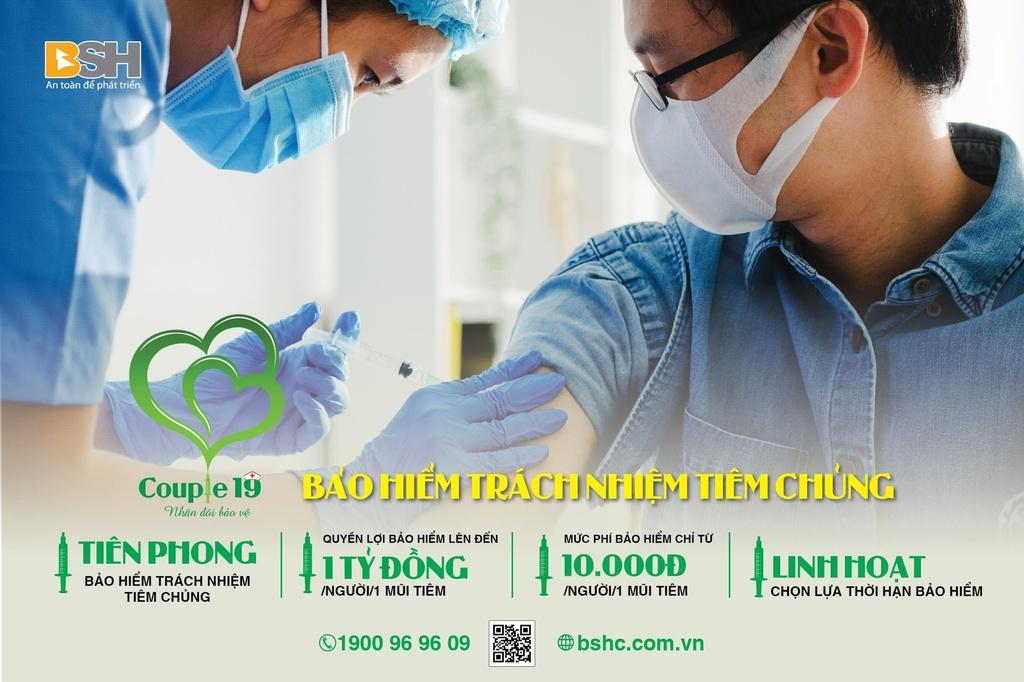 Bảo hiểm tiêm chủng của BSH chi trả quyền lợi đến 1 tỷ đồng