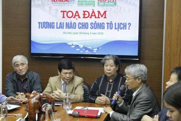 Tìm giải pháp khắc phục tình trạng ô nhiễm sông Tô Lịch