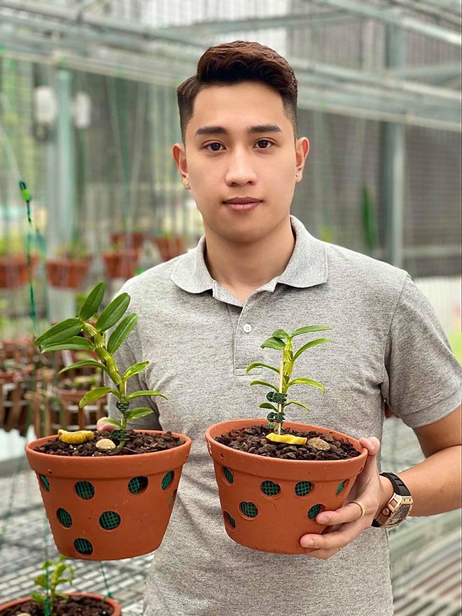 Ông chủ vườn lan 9X Trần Hồ Quang và nỗ lực của chàng trai trẻ