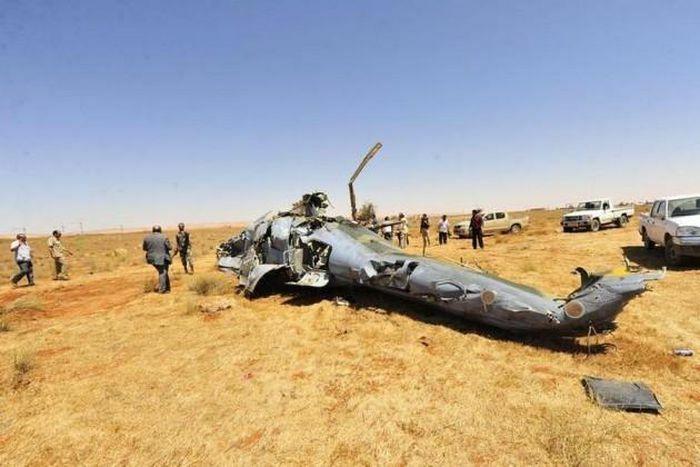 Trực thăng vũ trang Mi-35 của Nga rơi ở Syria, phi công thiệt mạng