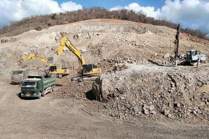 Tận dụng đá đổ thải đắp nền cao tốc Vĩnh Hảo – Phan Thiết