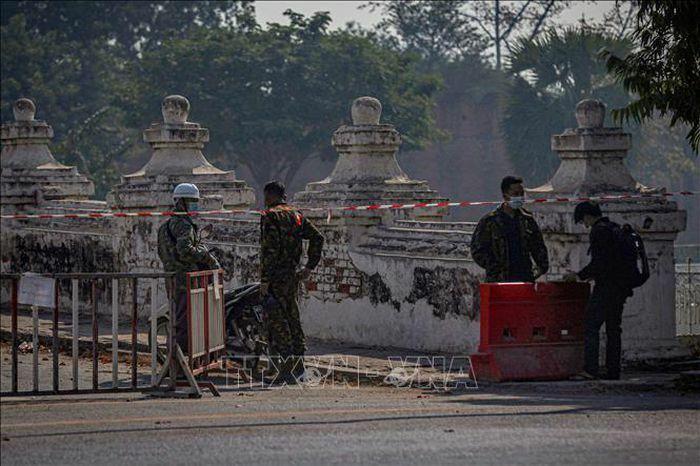 Myanmar áp đặt thiết quân luật tại một số khu vực ở TP Yangon