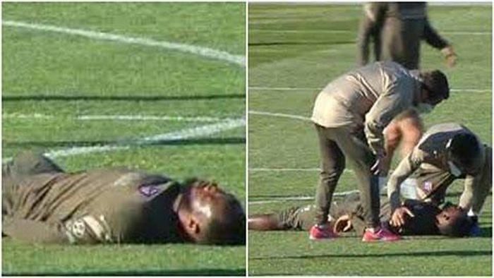 HLV Simeone tá hỏa vì Dembele đột quỵ trong buổi tập của Atletico
