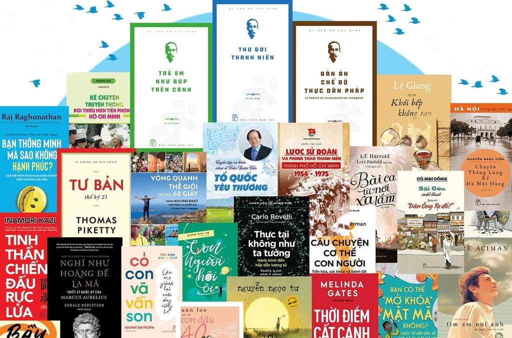 """136 ấn phẩm ra mắt trong """"Tháng ba sách Trẻ"""""""