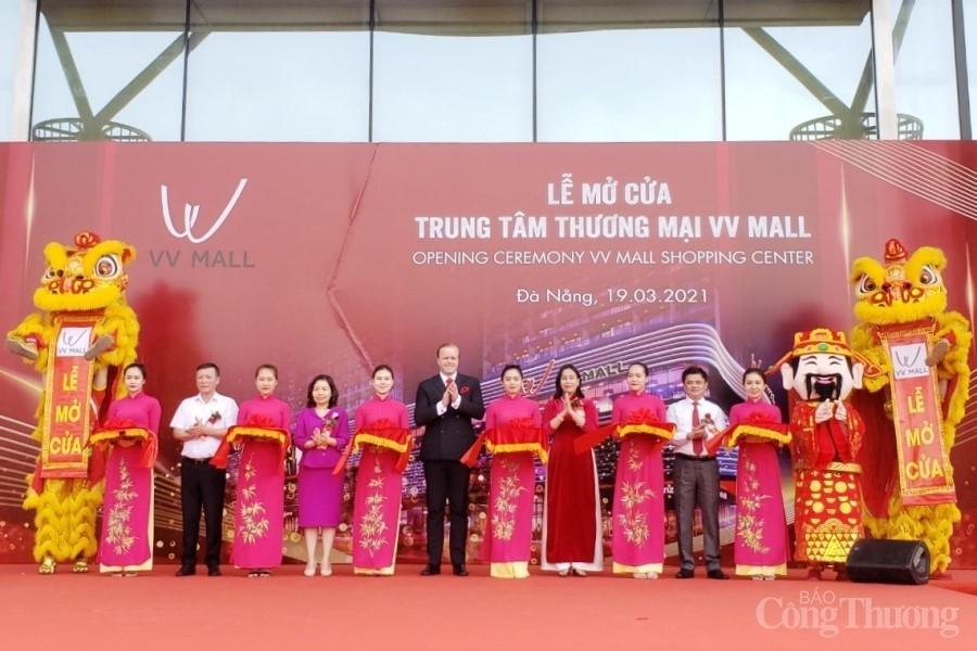 Đà Nẵng: Mở cửa trung tâm thương mại VV MALL