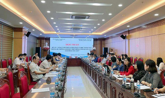 Hội thảo Đề án nâng cao chất lượng dạy và học ngoại ngữ