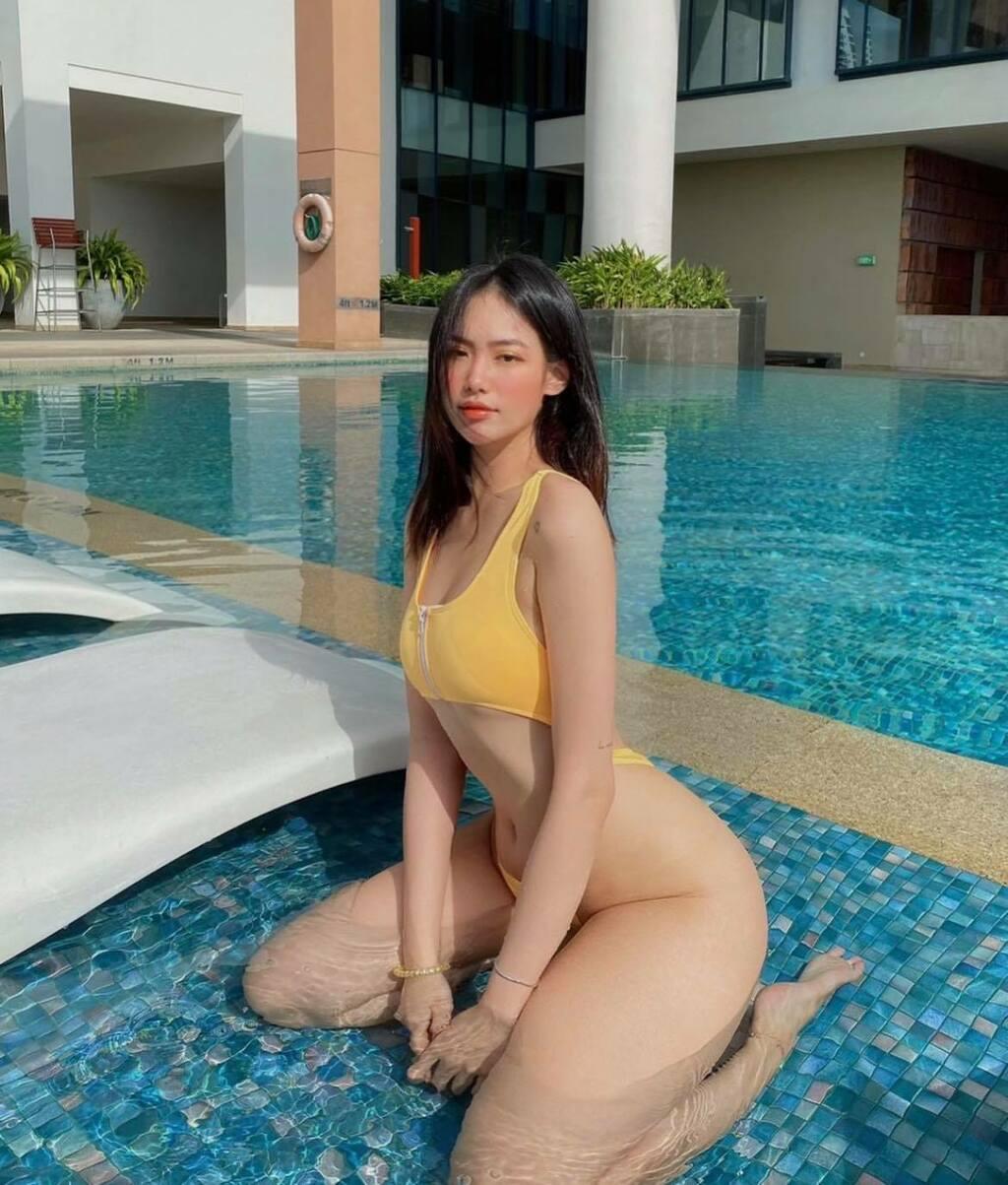 Hot girl phòng gym Nha Trang sở hữu vòng 3 tròn trịa đẹp mắt nhờ đâu?