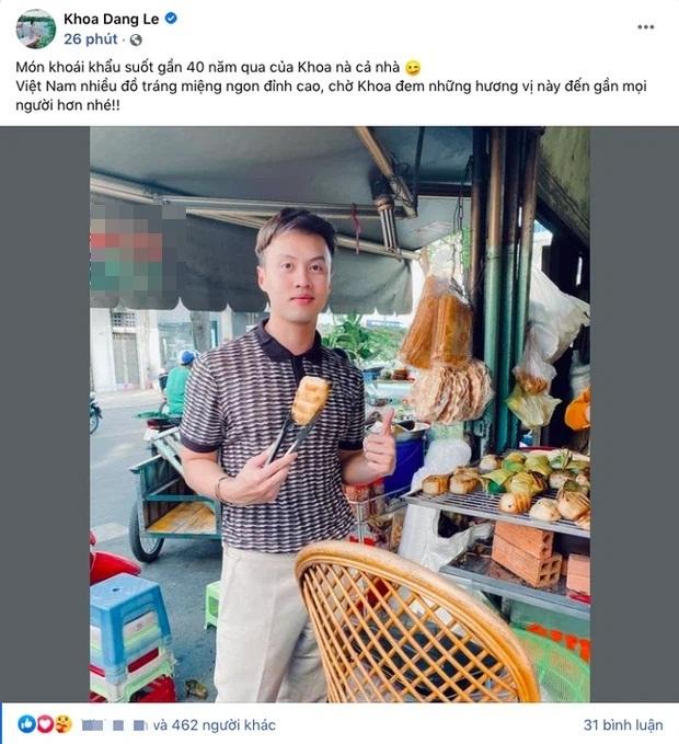 Shark Khoa khoe món ăn khoái khẩu thời tuổi thơ