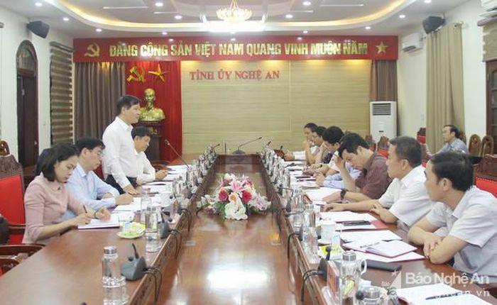 Nghệ An đề xuất Trung ương về mô hình và cách thức vận hành Văn phòng cấp ủy dùng chung