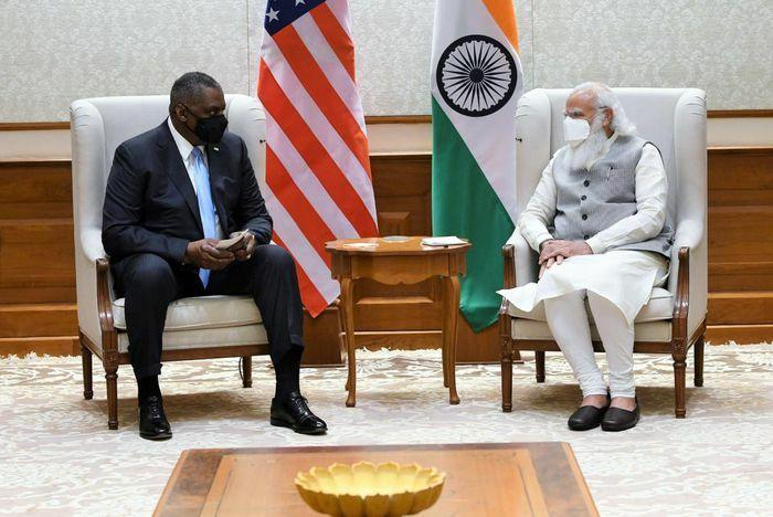 Bộ trưởng Quốc phòng Mỹ đề cao vai trò của Ấn Độ trong khu vực