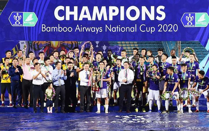Đội vô địch Cúp QG Bamboo Airways 2021 nhận tiền tỷ