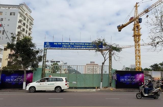 """Dự án I-Tower Quy Nhơn xây dựng không phép trên """"đất vàng"""""""