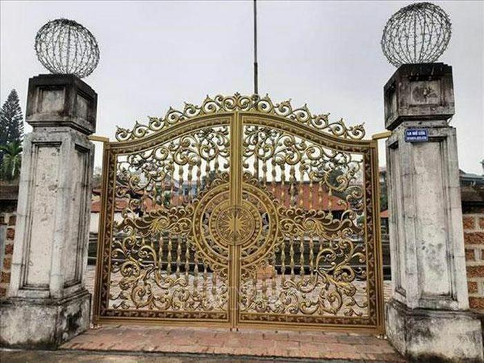 Trả lại nguyên trạng cổng di tích quốc gia đình Tây Đằng
