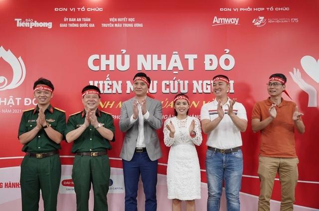 Amway Việt Nam đồng hành cùng chương trình hiến máu Chủ nhật Đỏ lần XIII
