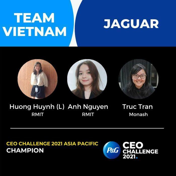 3 sinh viên Việt Nam tranh tài tại vòng đấu toàn cầu P&G CEO Challenge