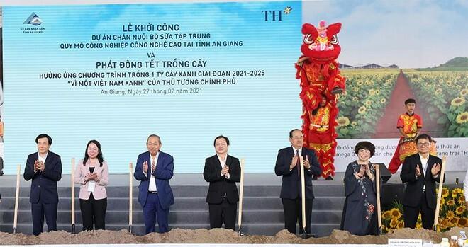 TH true MILK áp dụng công nghệ hàng đầu thế giới tại dự án sữa lớn nhất Đồng bằng sông Cửu Long