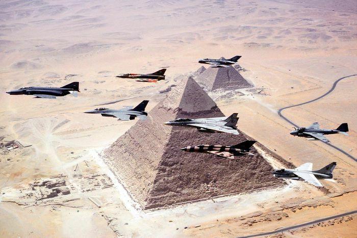 Không quân Ai Cập có gì để giữ vị thế hàng đầu châu Phi