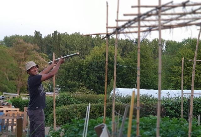 """Người đàn ông Việt thuê 200m2 đất ở Pháp để """"trồng rau, nuôi gà"""""""