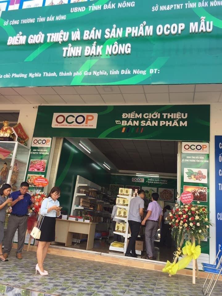 Đắk Nông khai trương điểm giới thiệu và bán sản phẩm OCOP mẫu
