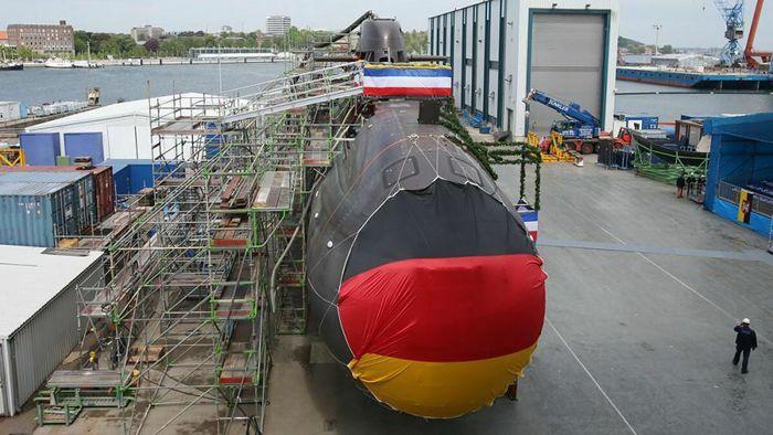 """Hải quân Đức """"chơi liều"""", lắp thiết bị định vị Nga cho các tàu ngầm hiện đại"""