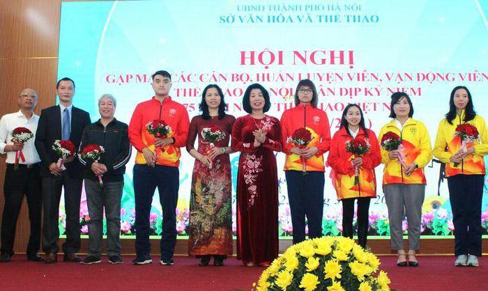 Hà Nội biểu dương 20 huấn luyện viên, vận động viên tiêu biểu