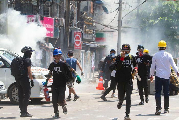 Người biểu tình Myanmar tử vong với vết đạn trên đầu