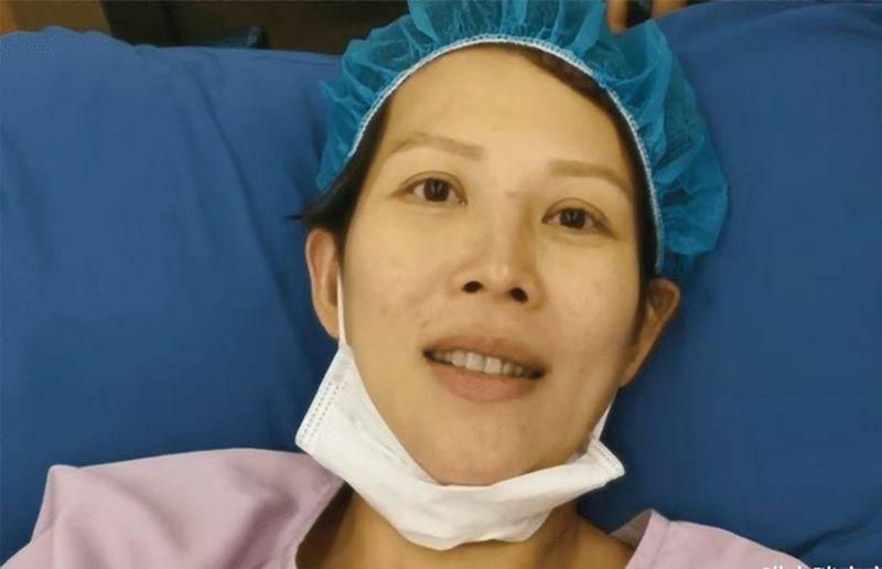 Hé lộ hình ảnh tàn tạ của Thái Thiếu Phân sau khi sinh con thứ 3