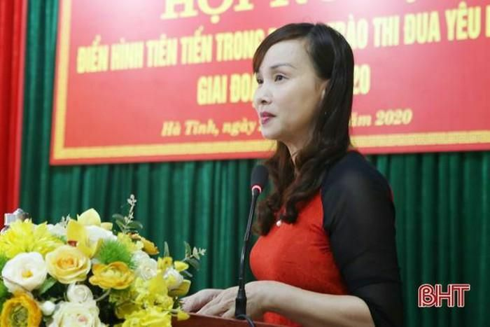 Hà Tĩnh giao quyền Giám đốc Sở Giáo dục và Đào tạo cho bà Đặng Thị Quỳnh Diệp