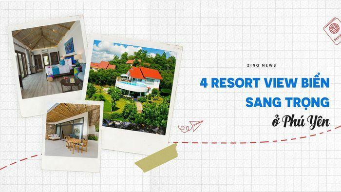 4 resort cạnh biển sang trọng ở Phú Yên