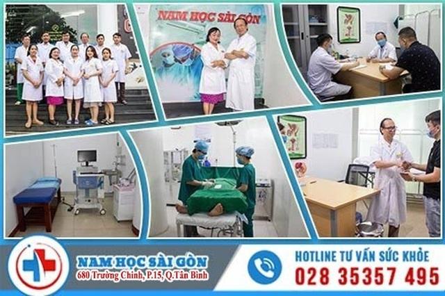 Nam học Sài gòn – phòng khám uy tín chuyên điều trị bệnh nam khoa tại TP. HCM