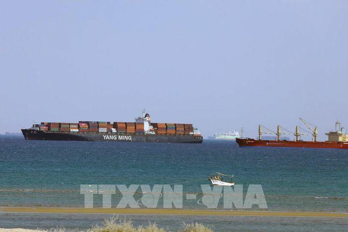 Vụ tàu mắc kẹt ở kênh đào Suez: Công ty chủ quản cam kết giải quyết theo luật quốc tế
