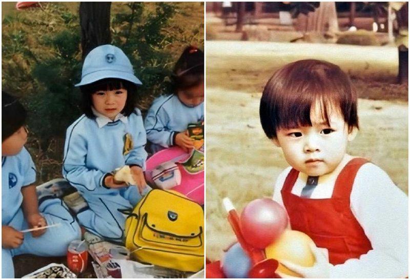 Son Ye Jin lộ ảnh thuở nhỏ xinh đẹp