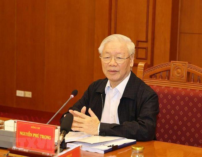 Tổng Bí thư chủ trì họp Thường trực Ban chỉ đạo về chống tham nhũng