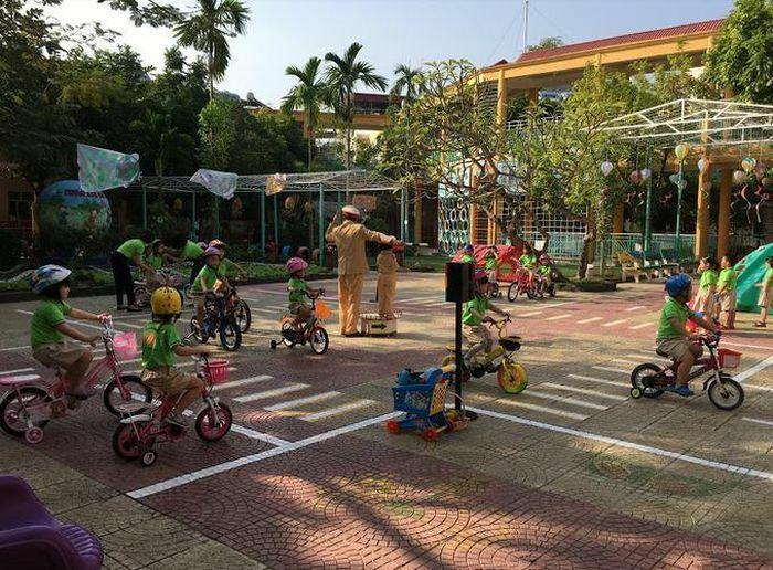 Chương trình giáo dục An toàn giao thông cho trẻ mầm non đạt hiệu quả cao
