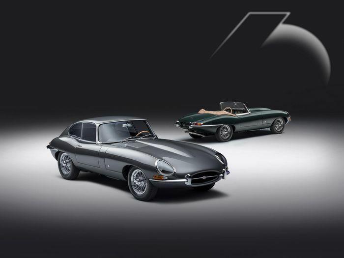 Bộ phận xe cổ Jaguar trình làng phiên bản kỉ niệm 60 năm của E-Type