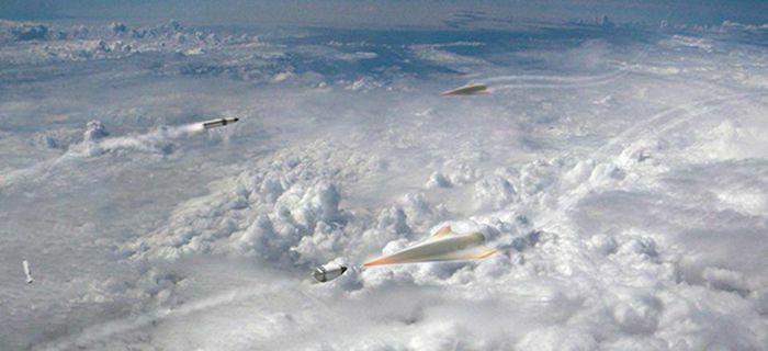 """Trung Quốc nghiên cứu khả năng """"tấn công bão hòa"""" quân đội Mỹ bằng vũ khí siêu vượt âm"""
