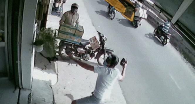 Ném mắm tôm, tạt sơn đòi nợ kiểu 'khủng bố' ở Sài Gòn
