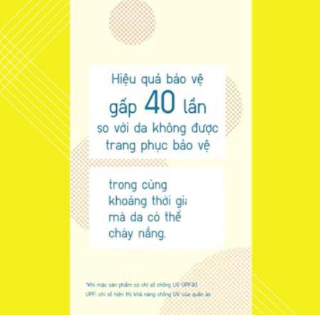 Vì sao nói đến chống nắng, chống tia cực tím là phải nhắc đến dòng sản phẩm UV Protection của UNIQLO?
