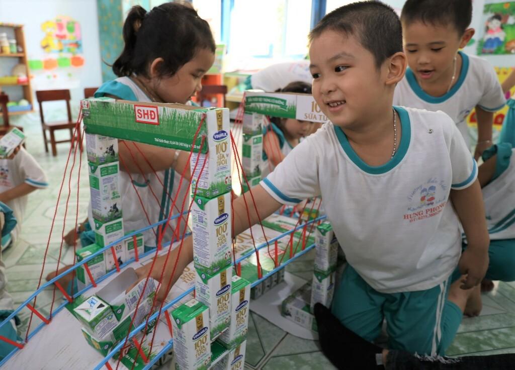 Sữa học đường được phụ huynh, học sinh Bến Tre đánh giá cao