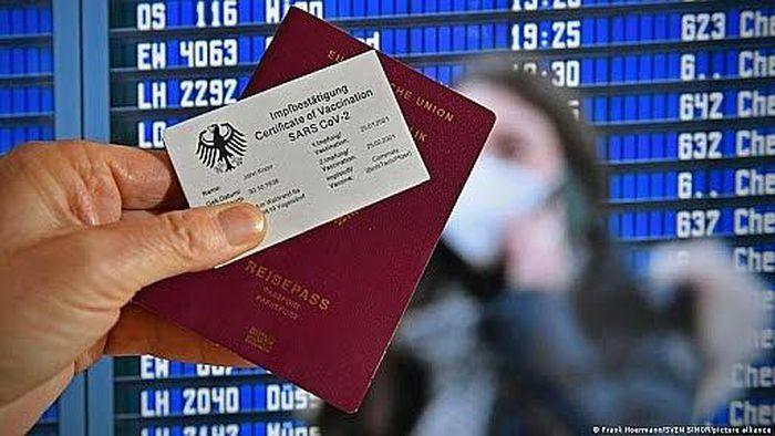 Đức chốt thời điểm cấp hộ chiếu vaccine