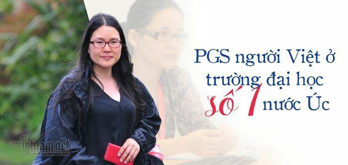 """PGS người Việt ở ĐH số 1 nước Úc: """"May mắn, tôi được học trường chuyên"""""""