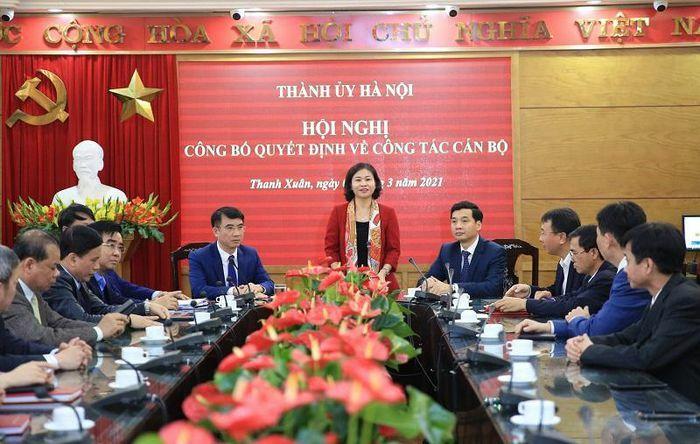 Điều động đồng chí Nguyễn Việt Hà giữ chức vụ Bí thư Quận ủy Thanh Xuân