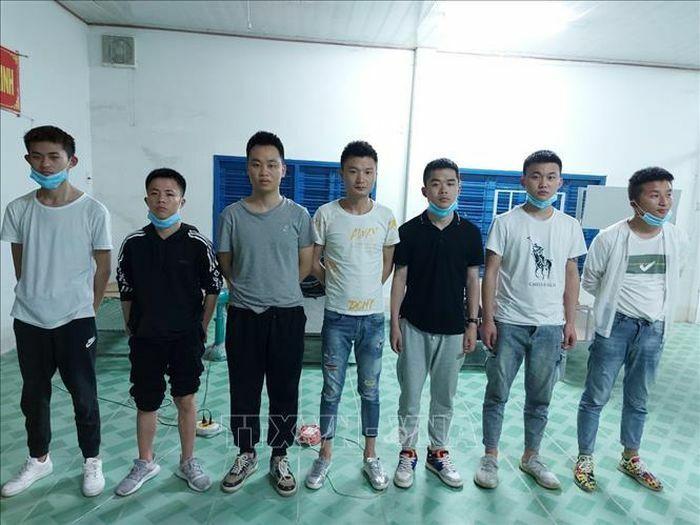 An Giang phát hiện 7 người Trung Quốc có ý định xuất cảnh trái phép