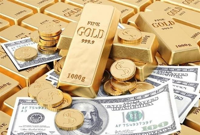 USD tăng tạo sức ép cho giá vàng