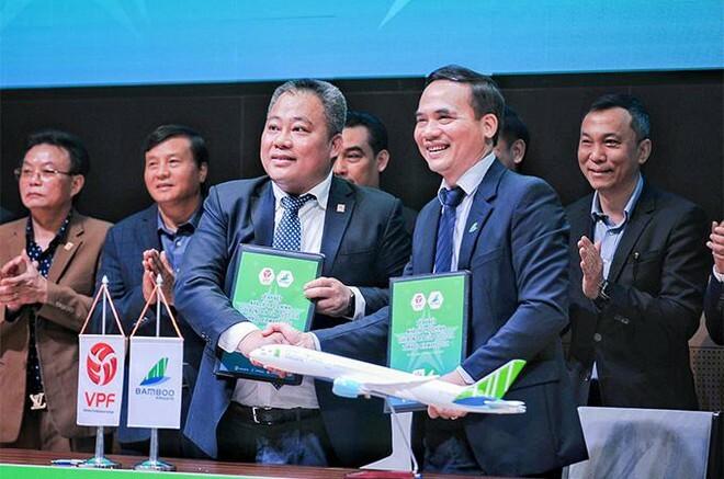 Bamboo Airways tài trợ chính Giải Cúp quốc gia Bamboo Airways 2021 năm thứ 3 liên tiếp