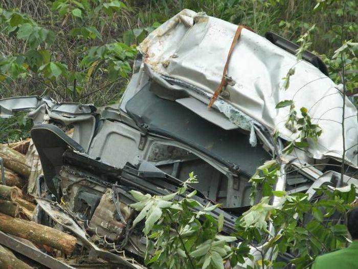 Hiện trường vụ tai nạn giao thông khiến 7 người chết