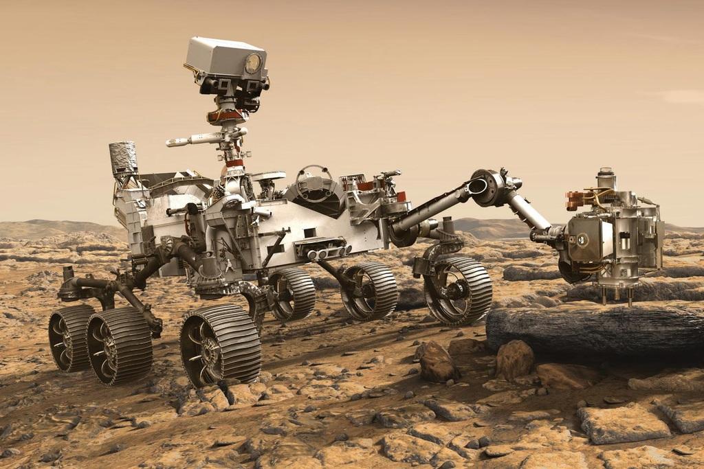 """Robot của NASA vừa hạ cánh xuống Hỏa Tinh dùng chip """"lỗi thời"""""""